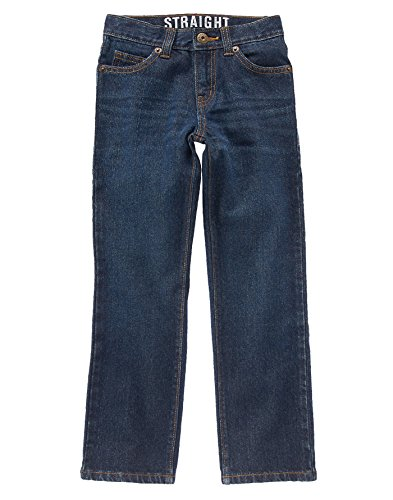 Crazy Boys Dark Straight Jeans