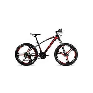 41lvW5yWyFL. SS300 Mountain Bike Unisex Mountain Bike 21/24/27 Speed Telaio in Acciaio ad Alto Tenore Di Carbonio 26 Pollici 3 Ruote a…