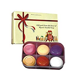 Mysore Sandal Soap Gift Pack, 150g – Pack of 6