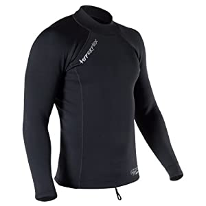 Hyperflex Wetsuits Men's Voodoo 1.5mm Pullover Jacket, Black, XX-Large