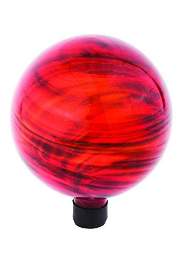 Russco III GD137180 Glass Gazing Ball, 10