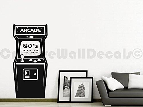 Arcade Wall (Vinyl Wall Decal Sticker Slot Machine Arcade Game Computer Kids Bedrom R1731)