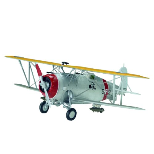 Accurate Miniatures Grumman F3F-1 Classic U.S. Navy Fighter Model Kit