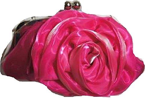 Casandra, Poschette giorno donna Rosa Fuchsia Pink
