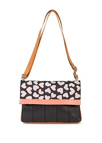 Harveys Seatbelt Bag Women's Mini Foldover Heart Of Heart One Size (Seat Belt Bag Mini)