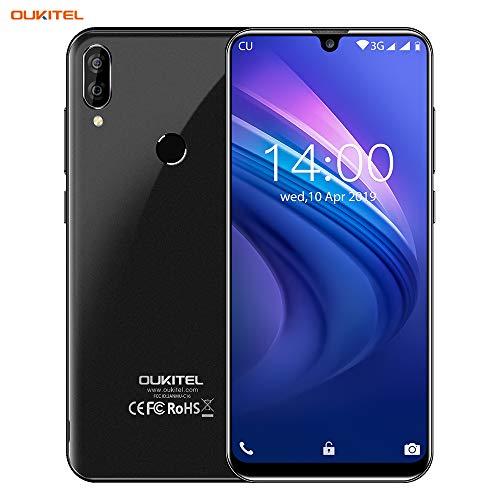 OUKITEL C16 Unlocked Smartphone Android 9.0 Unlocked Cell Phones,5.7″ 19:9 Infinity Display,8MP+2MP Cameras, 3G Android Phones Unlocked, Dual SIM Smartphone 2GB+16GB Fingerprint & Face Unlock