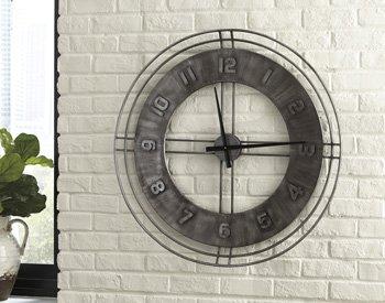 Signature Design by Ashley Ana Sofia Wall Clock ()