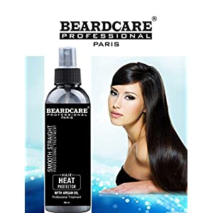 Beardcare Natural Hair Heat Protection Spray With Morroccan Argan oil 200ml