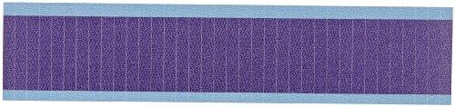 Brady WM-COL-PL-PK Repositionable Vinyl Cloth (B-500), Purple, NEMA Color Wire Marker Card - Solid Purple (25 Cards) by Brady