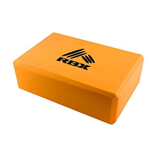 RBX Active Zen Yoga Block Orange