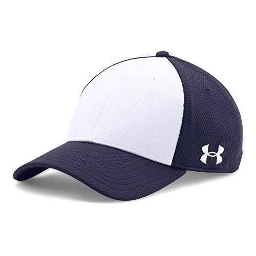 - Under Armour UA Color Blocked Stretch Fit Cap L/XL Midnight Navy