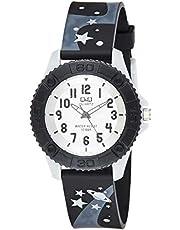 Q&Q Kids Waterproof Watch In Black [Vq96J013Y], Analog Display