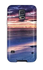 Excellent Design Evening On The Beach Case Cover For Galaxy S5