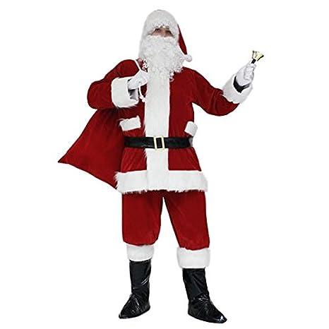 Vestito Babbo Natale Taglia 60.Pegasus Vestito Babbo Natale Santa Claus Lusso Taglia Xxxl 60 62 Uomo