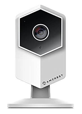 Amcrest UltraHD Shield 2K Dual-Band WiFi Video Security IP Camera w/ Two-Way Audio, MicroSD Recording, Super Wide 140° Viewing Angle, Full HD 3MP(2304×1296) @ 20FPS and Night Vision IP3M-HX2 from Amcrest