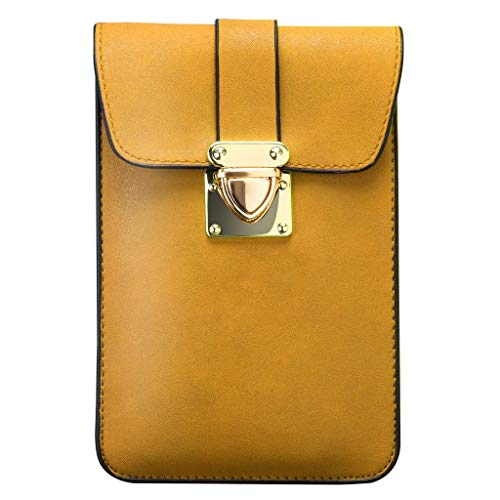 - Rakkiss Women Handbag Fashion Solid Color Buckle Purse Ladies Small Leather Wallet
