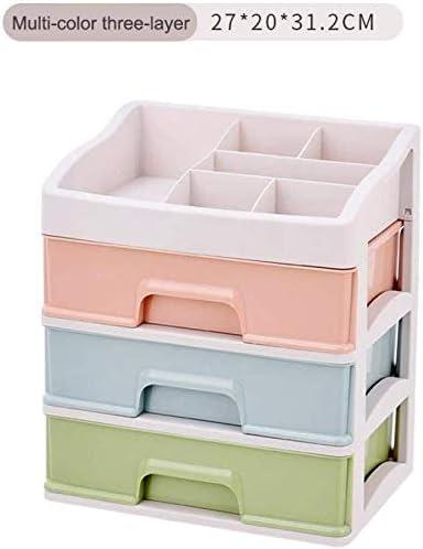 Cajas de joyería DJSSH Cosméticos Caja de almacenamiento de contenedores de plástico de maquillaje organizador de maquillaje de almacenamiento Caja de almacenamiento de contenedores de uñas caja de al: Amazon.es: Hogar