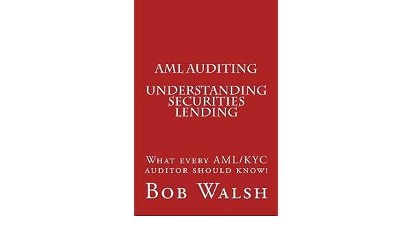 Aml Auditing Understanding Securities Lending Volume 5