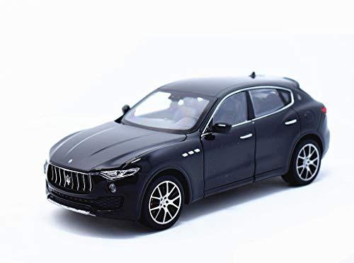 ウィリー 1/24 マセラティ レヴァンテ Maserati Levante Black レース スポーツカー ダイキャストカー Diecast Model ミニカー