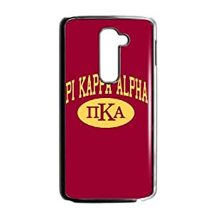 LG G2 Cell Phone Case Black Pi Kappa Alpha College LSO7964276