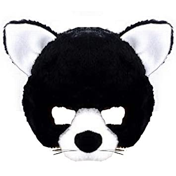 Gato peluche mascara venda con sonido