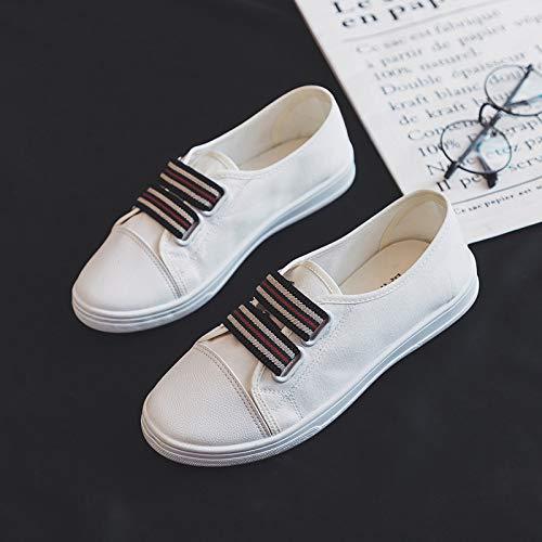 40 Taille Blanc ZHRUI EU Chaussures Jaune coloré wqnxXZP