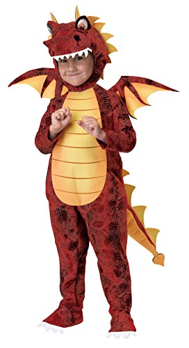 California Costumes Fire Breathing Dragon Toddler Costume, 3-4 -