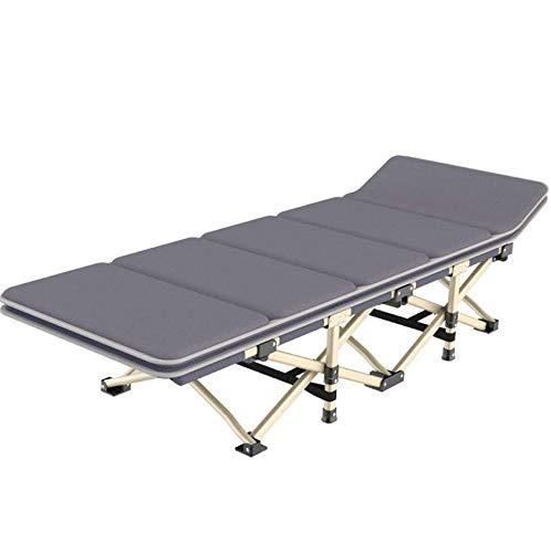 Comfot Aufweitendes Einzelnes Faltendes Bett-Büro-Haar-Bett-Kampierendes Tragbares Bett Im Freien Mit Baumwollauflage-10 Fuß-Unterstützung