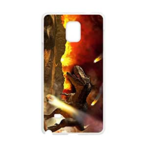 Fire Creative Dinosaur High Quality Custom Protective Phone Case Cove For Samsung Galaxy Note4