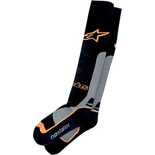Alpinestars Men's 4702014-174-SM Sock (Coolmax) Orange ()