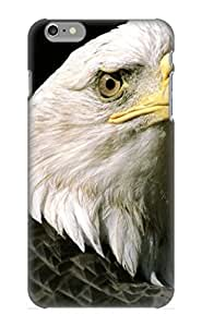 Cdujuq-7582-qoxgbsp Awesome Animal Bald Eagle Bird Flip Case With Fashion Design For Iphone 6 Plus As New Year's Day's Gift