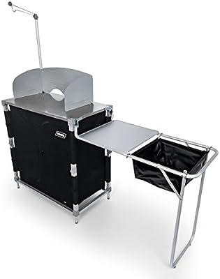 Amazon.com: Mesa de cocina para campamento, mesa de cocina ...