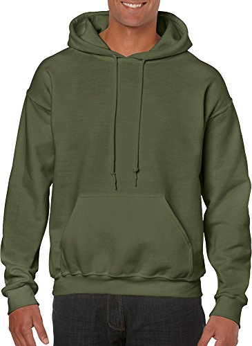 gildan-adult-heavy-blend-hooded-sweatshirt-military-green-x-large