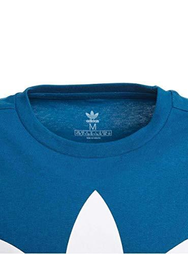 Maglietta Tee Legend Adidas Trefoil Unisex Bambini bianco Marine Aq55wEZ