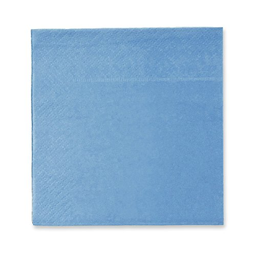 Cocktail Napkins - 200-Pack Disposable Paper Napkins, 2-Ply, Pool Blue, 5 x 5 inches Folded