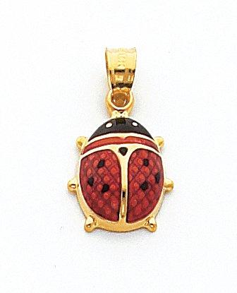 Quality Gold Ladybug Charm - 5