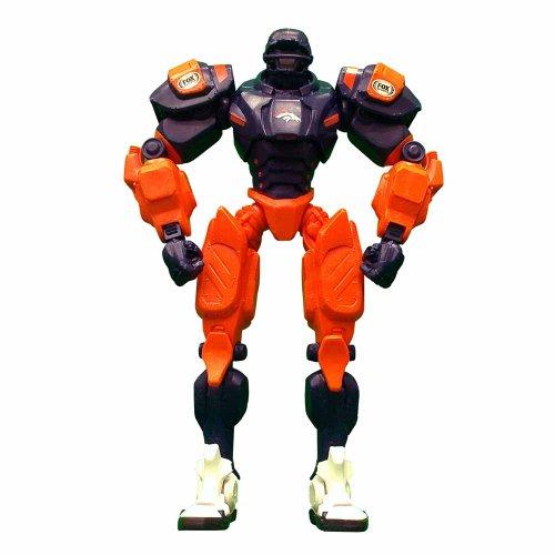 NFL Denver Broncos Fox Sports Team Robot, 10-inches