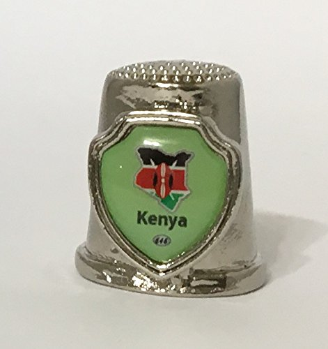 Country 'Kenya' Souvenir Thimble 646