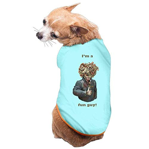 Avagea Dog Clothes, Coat, Costume,Sweater, Vest, Dog Cat Pet Shirt Clothes Puppy Vest Soft Thin I'm A Fun Guy 3 Sizes 4 Colors Available -