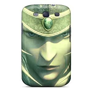 Awesome YayczUi3037ABlxc Jamesmeggest Defender Tpu Hard Case Cover For Galaxy S3- Warrior Of Light