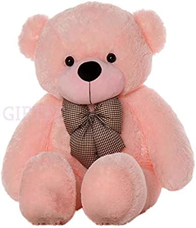Hay Hay Chicken Stuffed Animal, Buy Giftee Soft And Fluffy Teddy Bear Plush Soft Toy For Kids Friend 3 Feet Big Color Pink Size 92 Cm Online At Low Prices In India Amazon In
