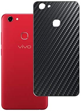 Vaxson 2-Pack Back Protector Film, compatible with VIVO Z10 Y73, Black Carbon Fiber Guard Cover Skin [Not Tempered Glass/Not Front Screen Protectors]