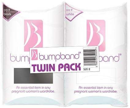 Bumpband Twinpack - Banda para embarazadas (2 unidades, tamaño banda 2, tamaño vestido