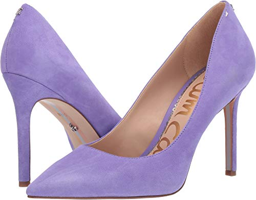 - Sam Edelman Women's Hazel Wild Lavender Kid Suede Leather 9 W US