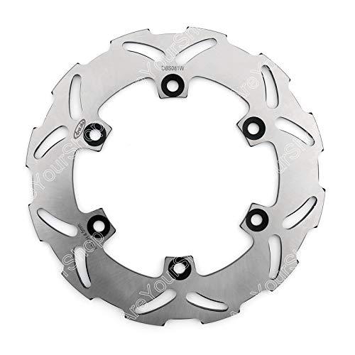 Artudatech Arashi Rear Brake Disc Rotor For YAMAHA YZF R6 600 99-02 R1 1000 02-03 TT 250 00