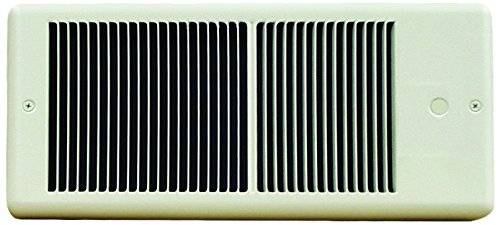 TPI HF4320RPW Series 4300 Low Profile Fan Forced Wall Heater Without Thermostat, Standard, White, 2000/1500 ()