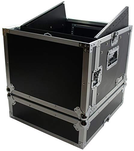 Harmony Case HCM6U DJ Pro Audio 10U Slant Top 8U Vertical Mixer Rack Case New