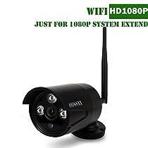 OOSSXX Extend 1080P Wireless Camera Black