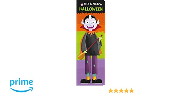 mix and match halloween roger priddy 9780312520212 amazoncom books