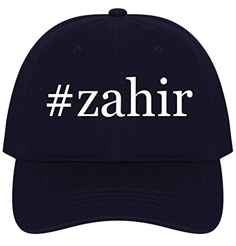 The Town Butler #Zahir - A Nice Comfortable Adjustable Hashtag Dad Hat Cap, Navy